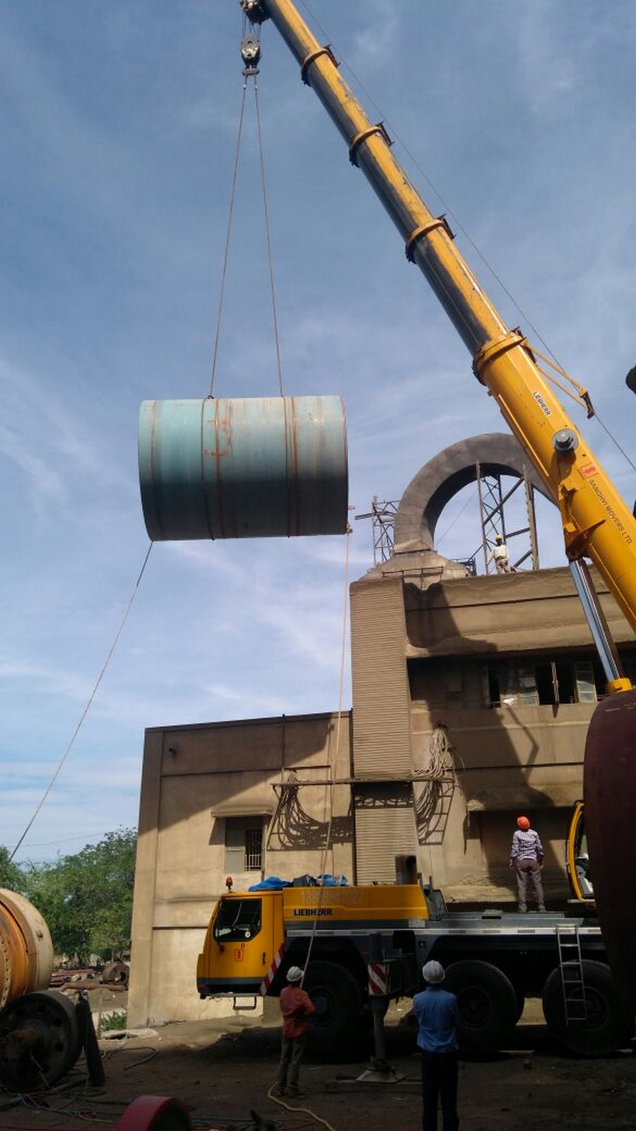 replacement of kiln shell Kiln shells manufacturers: we ashoka group is largest kilns and kiln shells   very quickly, it was replaced with kiln having varying diameters at different parts.